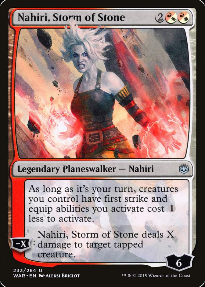 Nahiri, Storm of Stone [WAR]