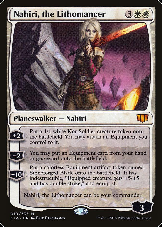 Nahiri, the Lithomancer [C14]