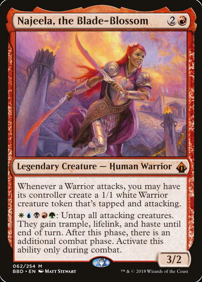Najeela, the Blade-Blossom [BBD] (F)