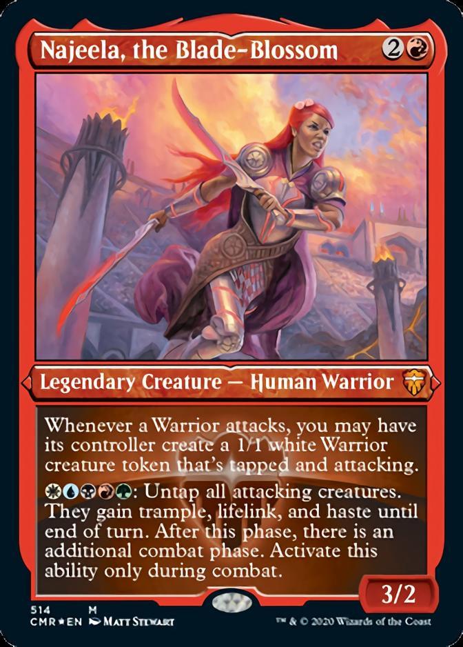 Najeela, the Blade-Blossom [PCMR] (F)