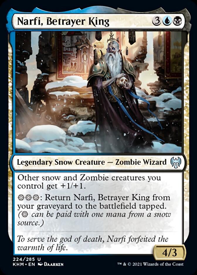 Narfi, Betrayer King [KHM]