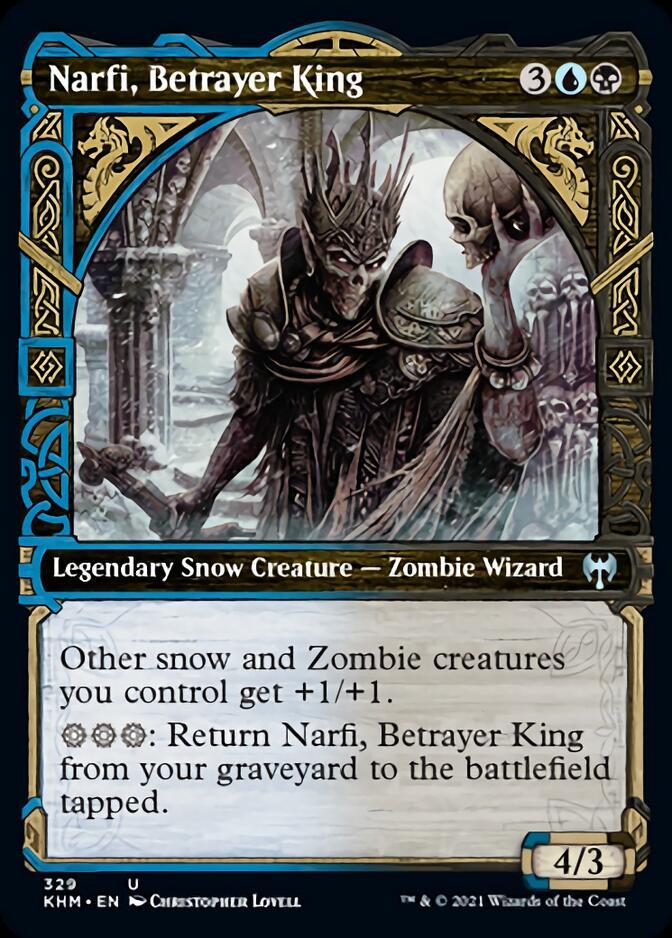 Narfi, Betrayer King <showcase> [KHM]