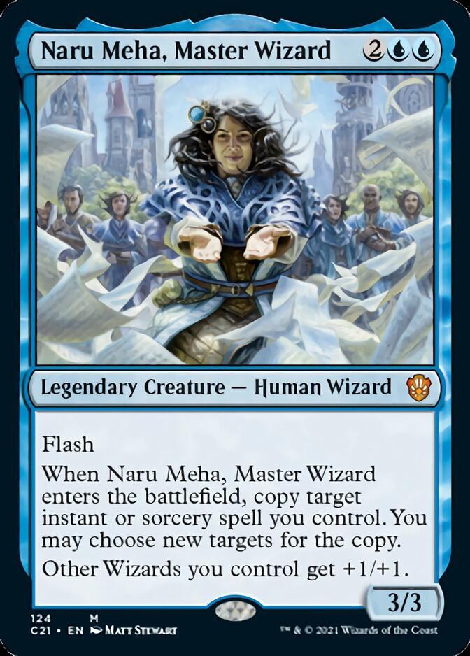 Naru Meha, Master Wizard [C21]