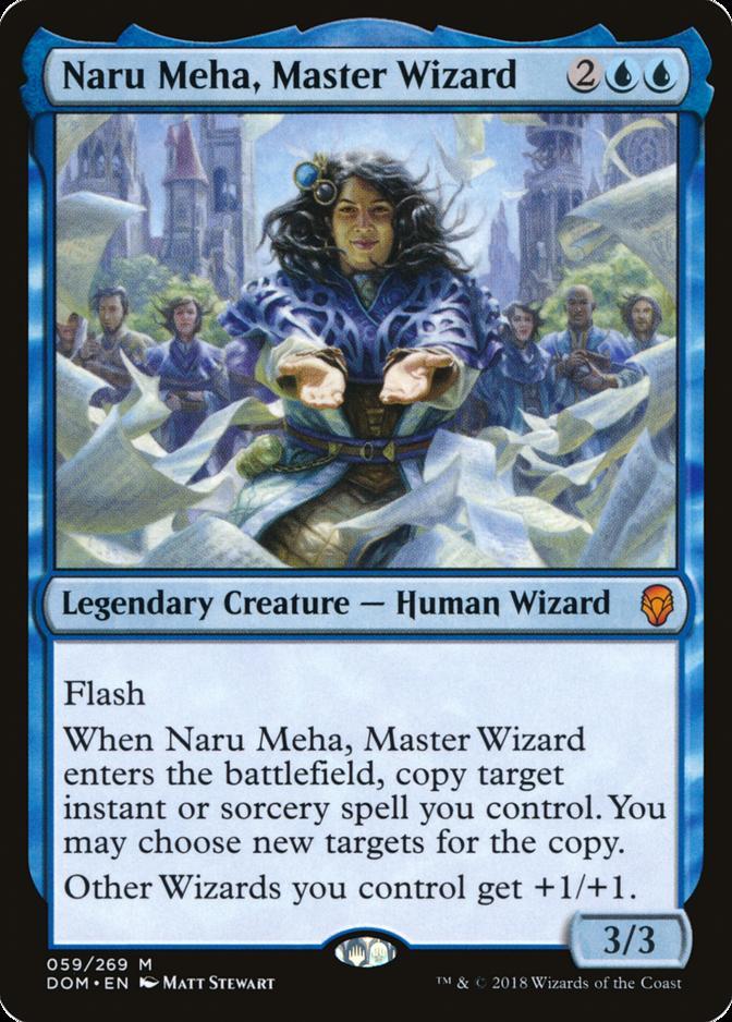 Naru Meha, Master Wizard [DOM]