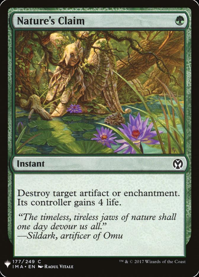 Nature's Claim [MB1]