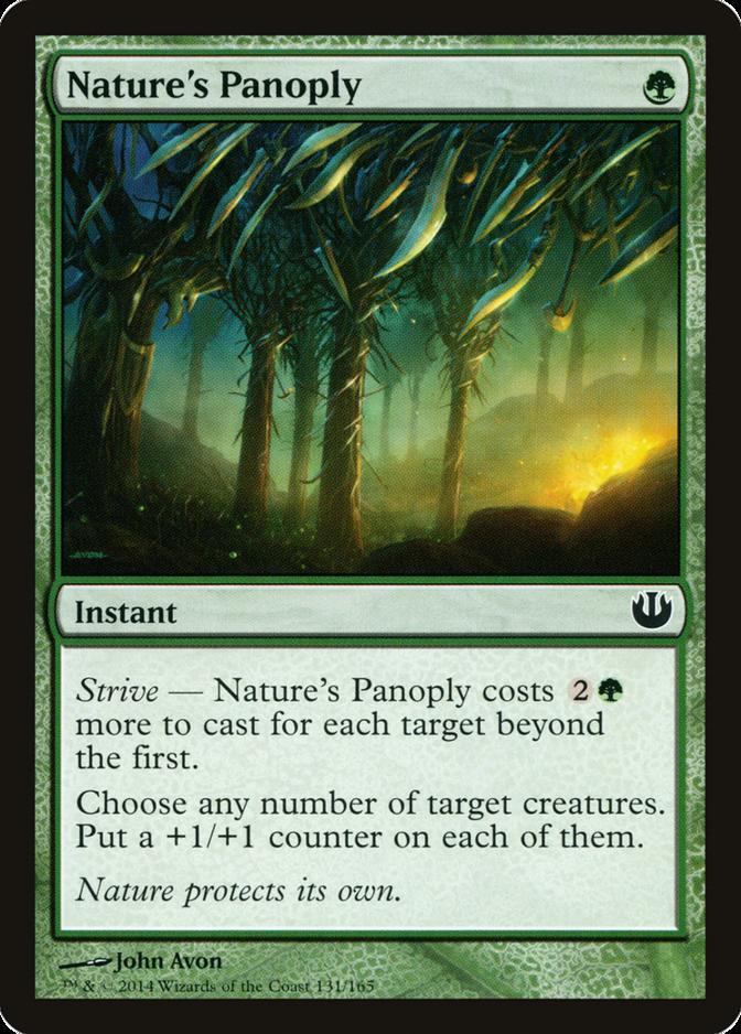 Nature's Panoply [JOU] (F)