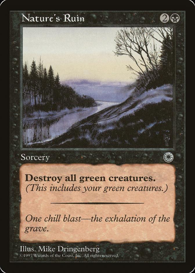Nature's Ruin [POR]