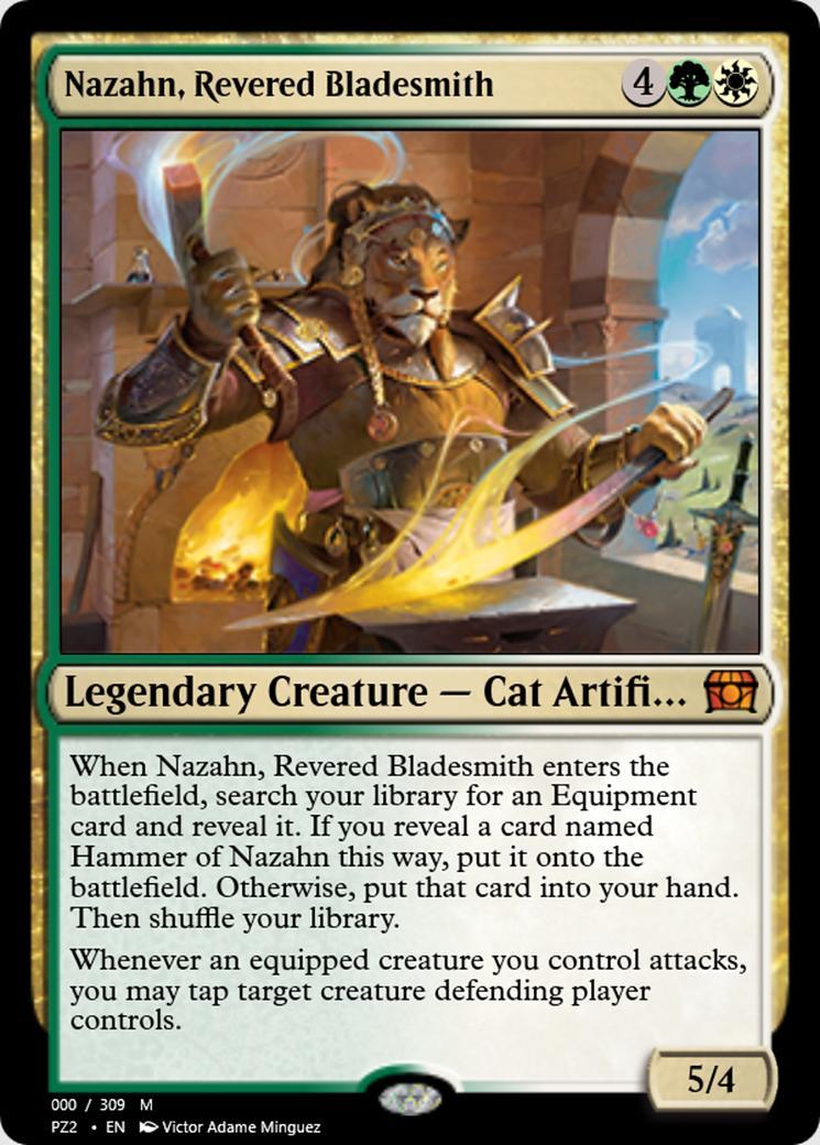 Nazahn, Revered Bladesmith [PZ2]