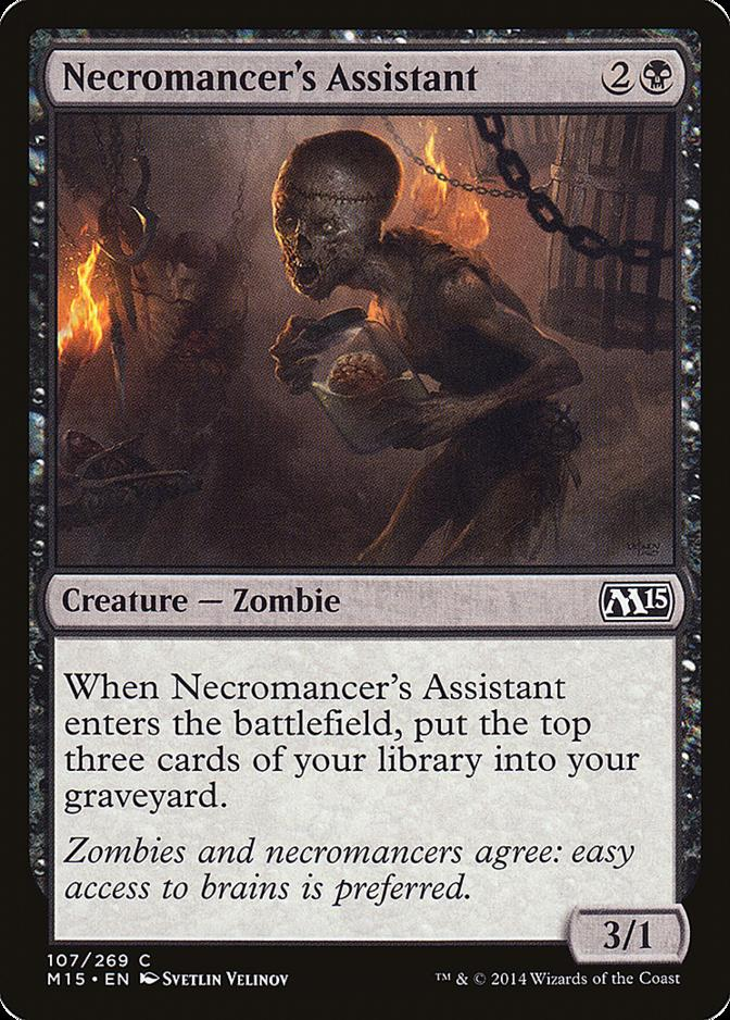 Necromancer's Assistant [M15] (F)