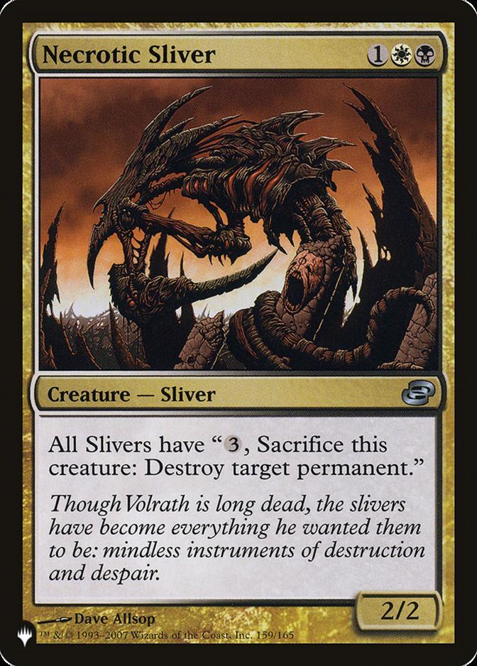 Necrotic Sliver [PLIST]