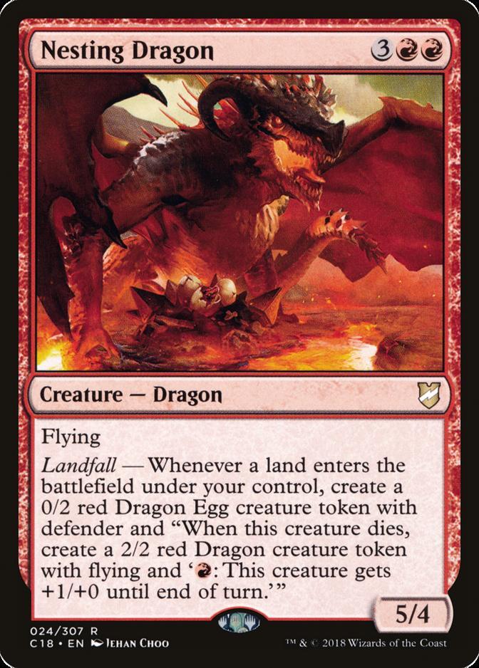Nesting Dragon [C18]