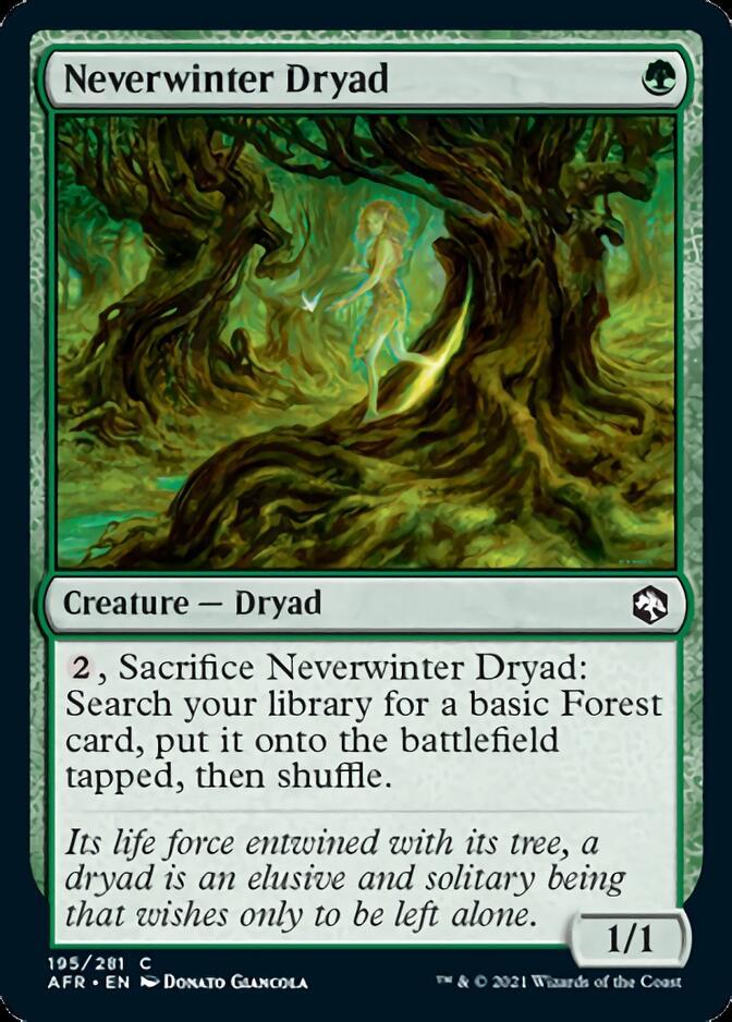 Neverwinter Dryad [AFR]