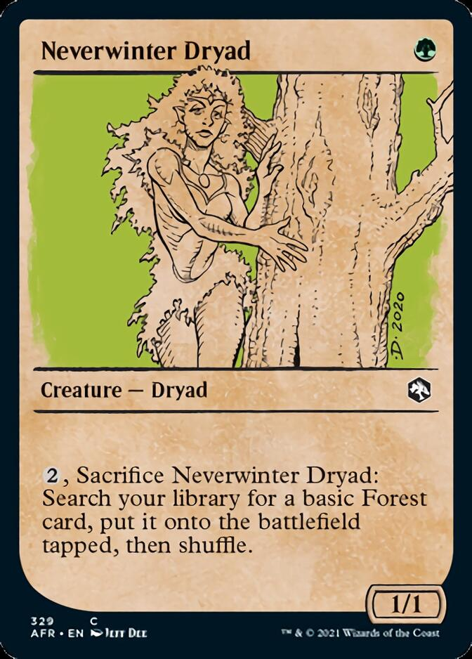 Neverwinter Dryad <showcase> [AFR]