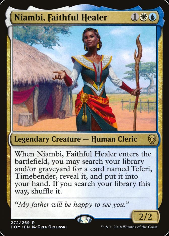 Niambi, Faithful Healer [DOM]