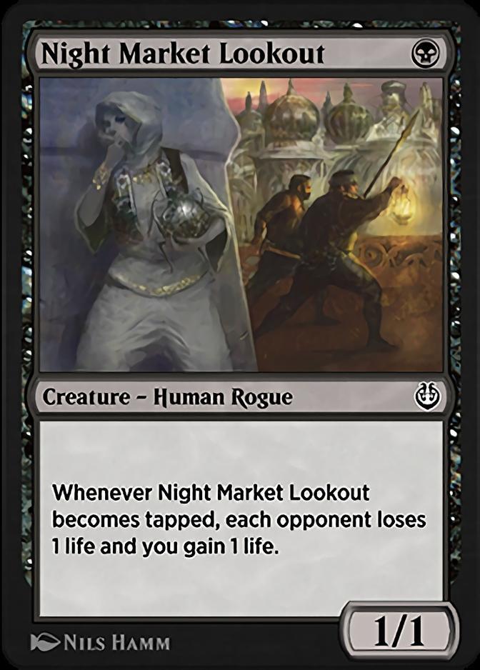 Night Market Lookout [KLR]