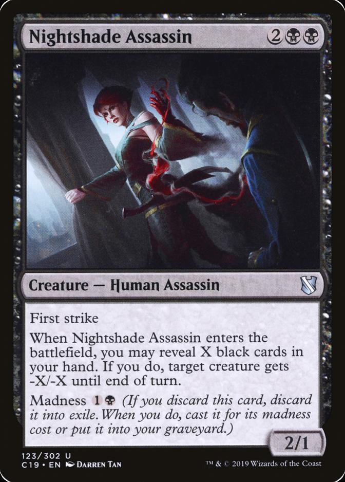 Nightshade Assassin [C19]