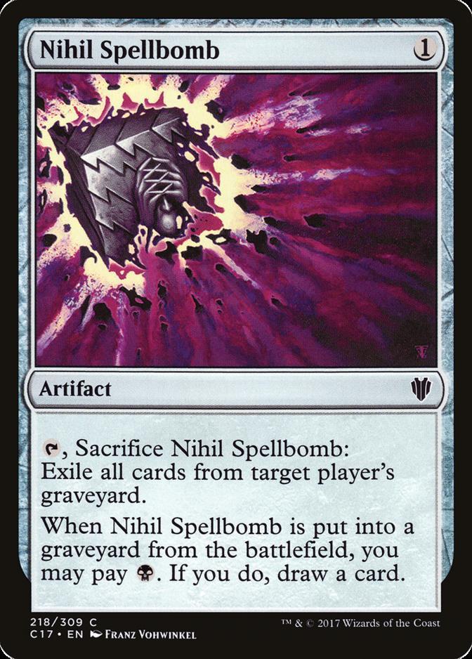 Nihil Spellbomb [C17]