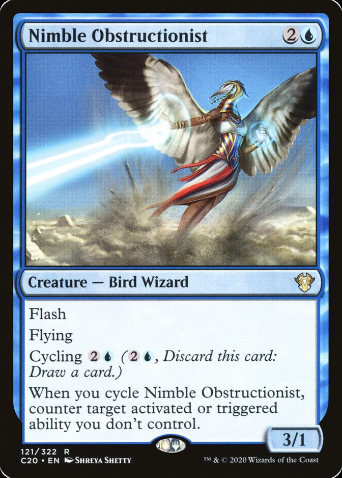 Nimble Obstructionist [C20]