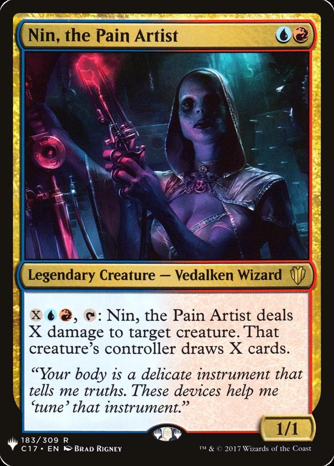 Nin, the Pain Artist [MB1]