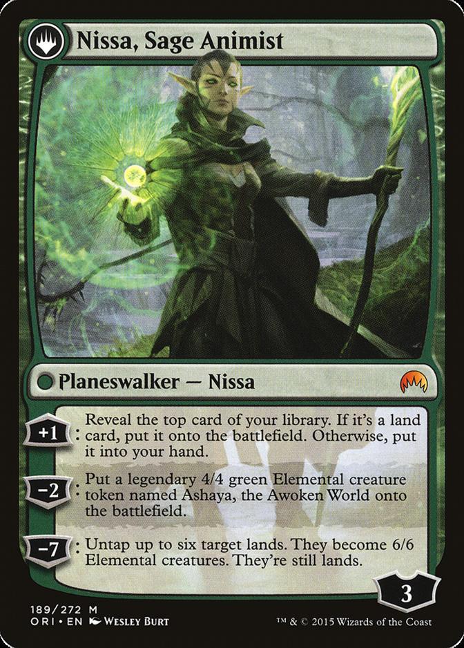 Nissa, Sage Animist [ORI]