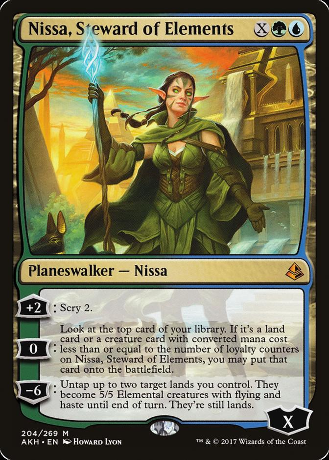 Nissa, Steward of Elements [AKH]