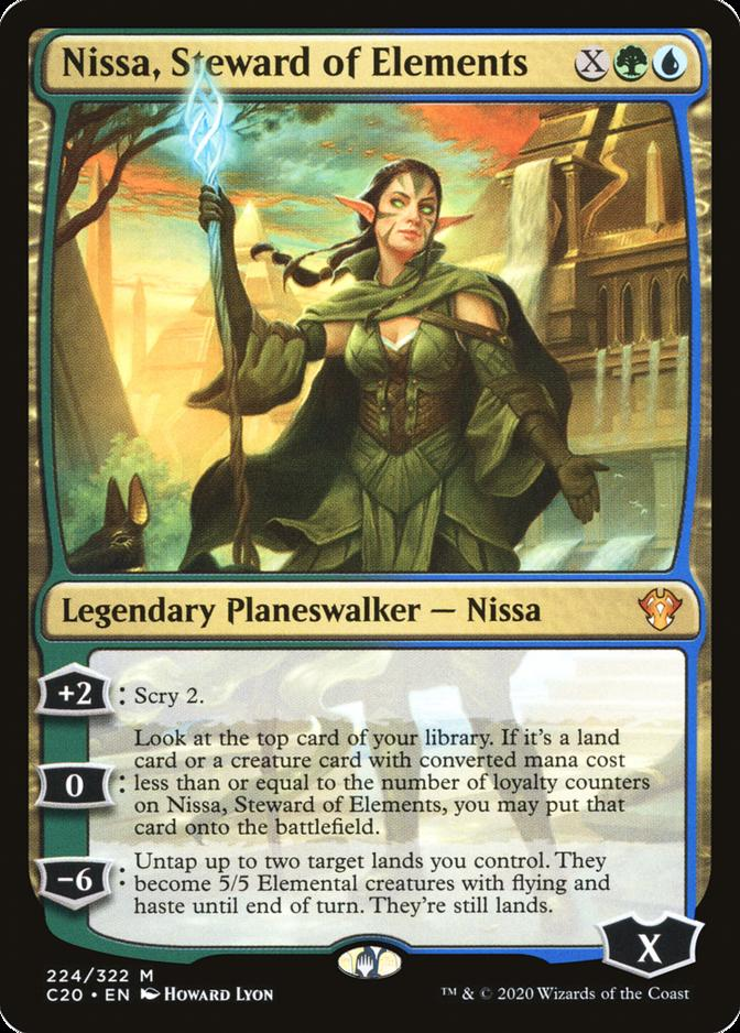 Nissa, Steward of Elements [C20]