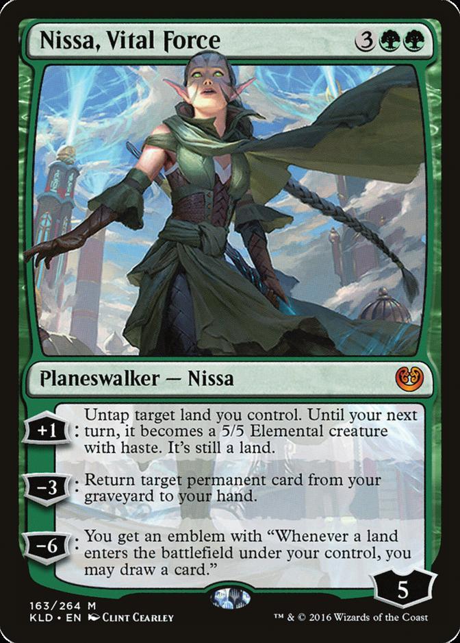 Nissa, Vital Force [KLD]