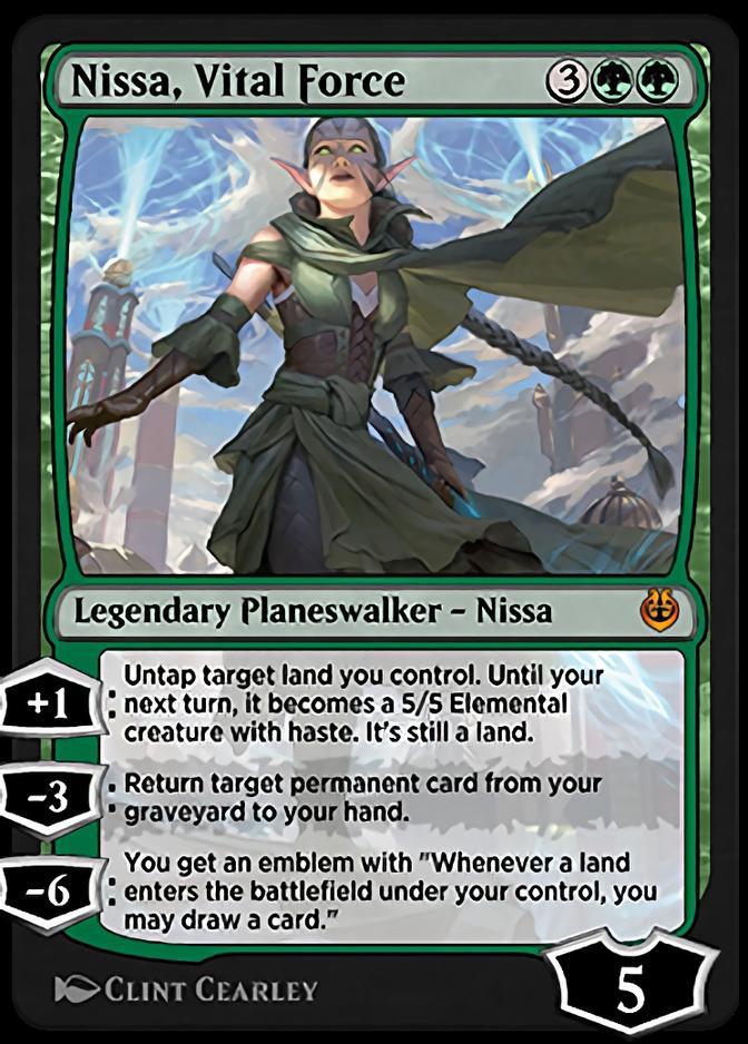 Nissa, Vital Force [KLR]