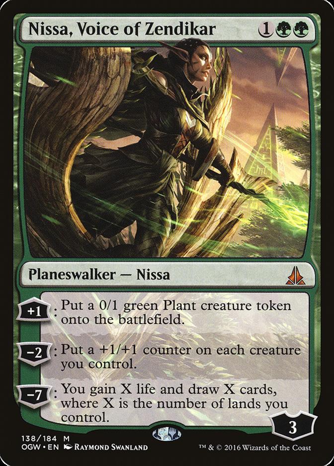 Nissa, Voice of Zendikar [OGW]
