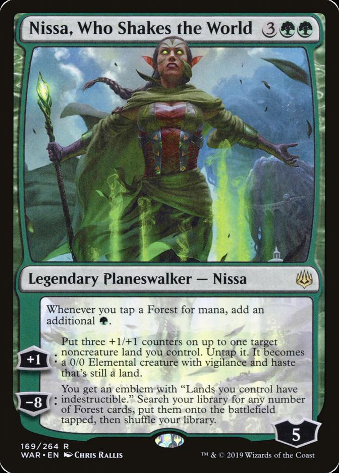 Nissa, Who Shakes the World [WAR]