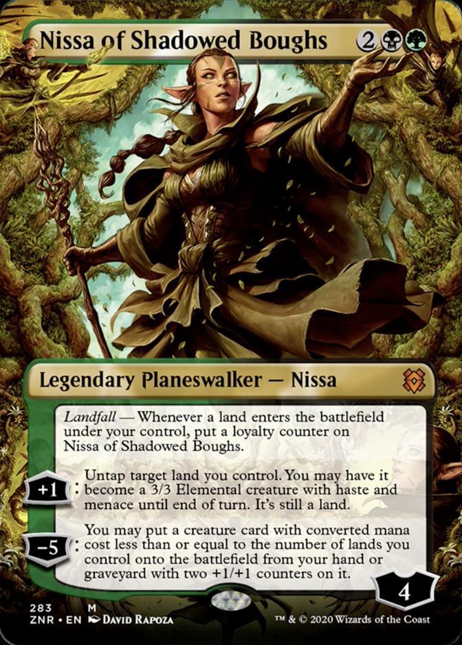 Nissa of Shadowed Boughs [PZNR]
