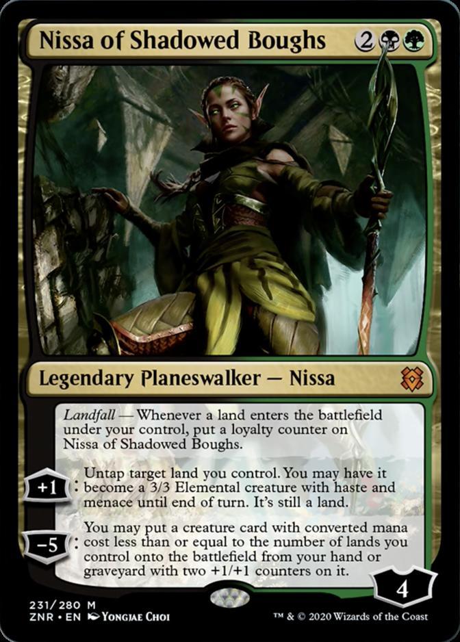 Nissa of Shadowed Boughs [ZNR]