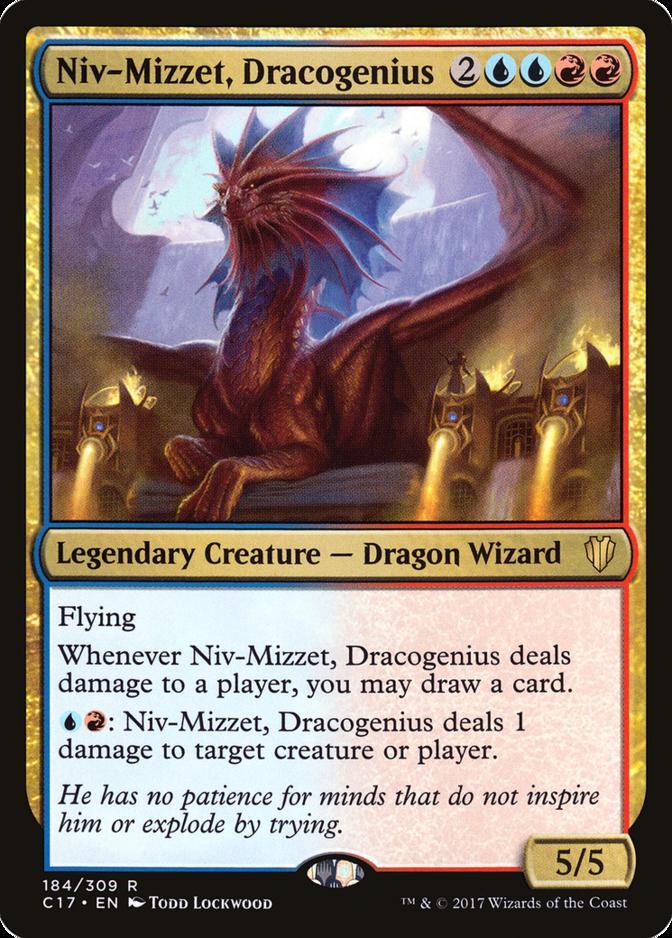 Niv-Mizzet, Dracogenius [C17]