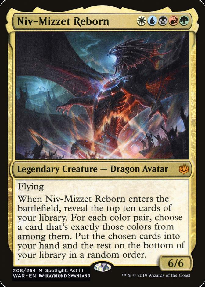 Niv-Mizzet Reborn [WAR]