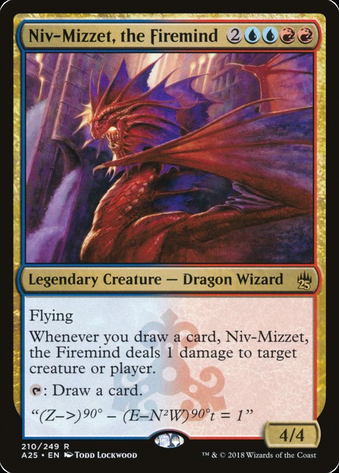 Niv-Mizzet, the Firemind [A25] (F)