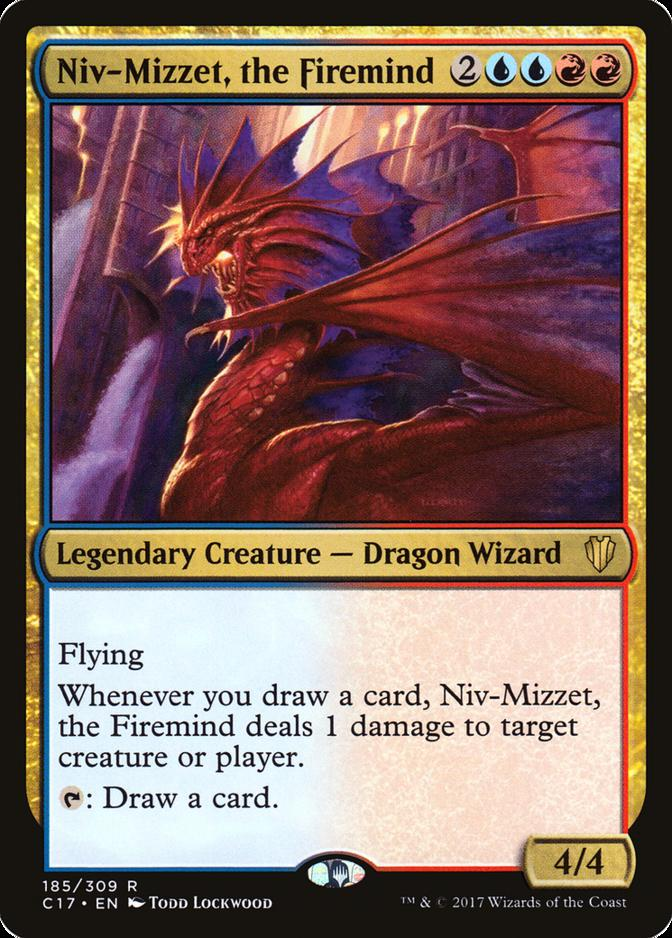 Niv-Mizzet, the Firemind [C17]