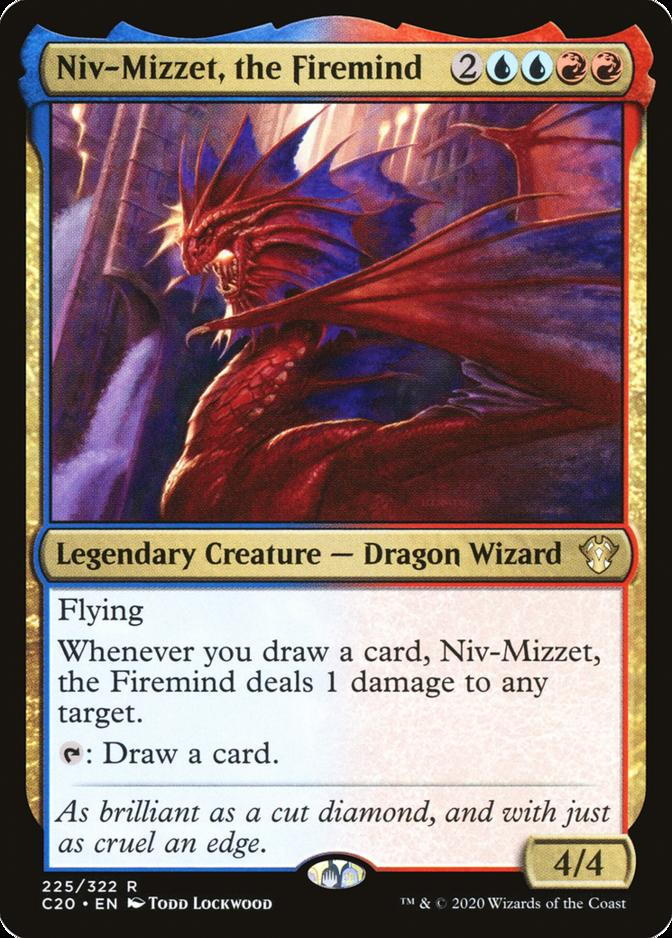 Niv-Mizzet, the Firemind [C20]