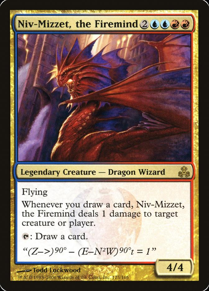 Niv-Mizzet, the Firemind [GPT]