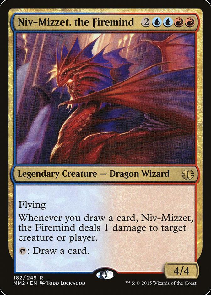 Niv-Mizzet, the Firemind [MM2] (F)