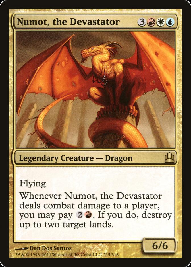 Numot, the Devastator [CMD]