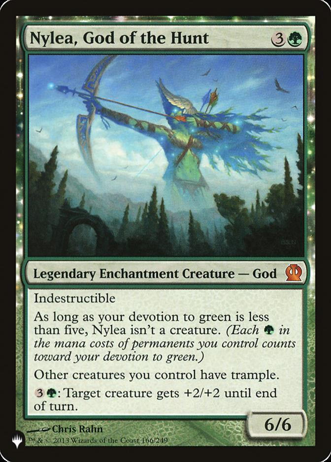 Nylea, God of the Hunt [PLIST]
