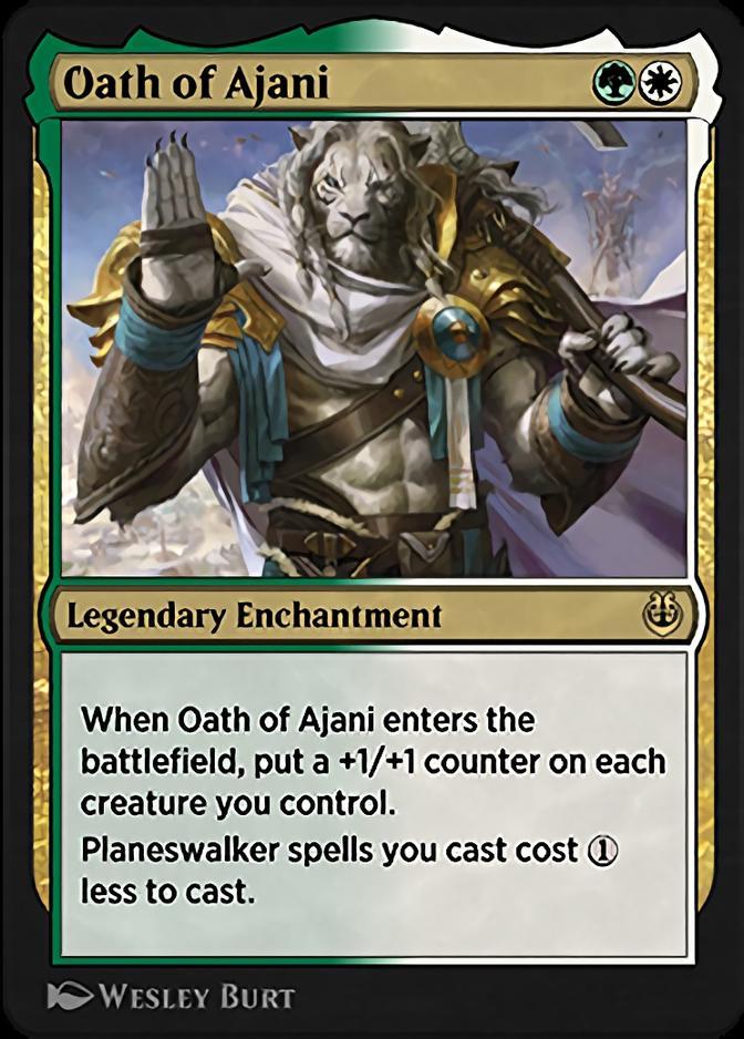 Oath of Ajani [KLR]