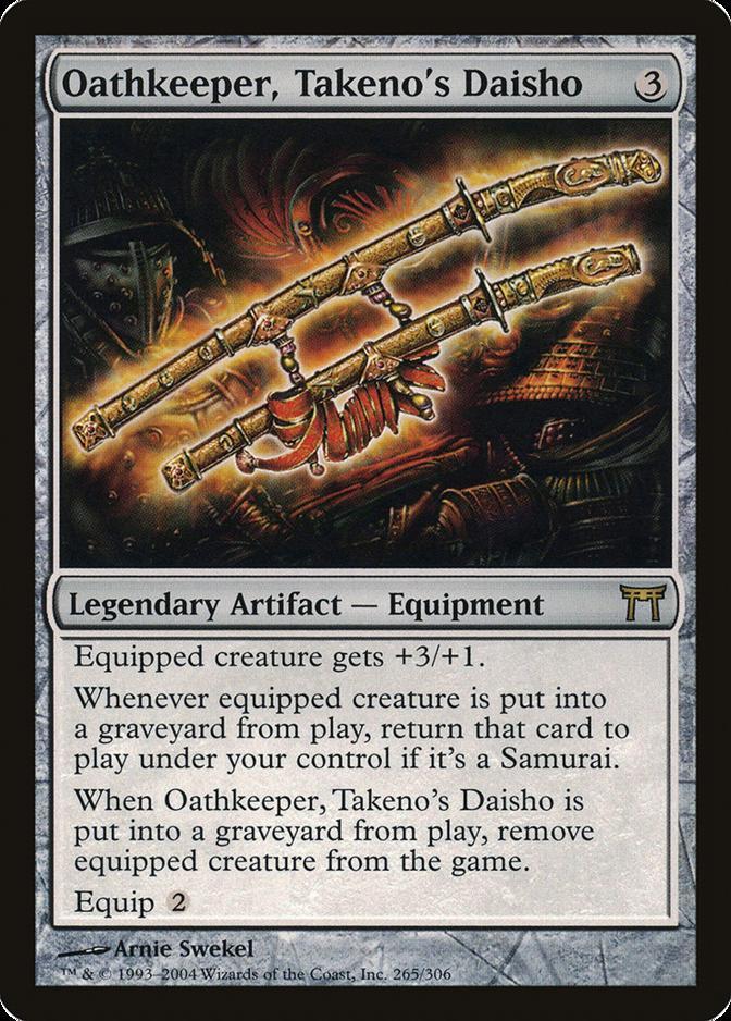 Oathkeeper, Takeno's Daisho [CHK]
