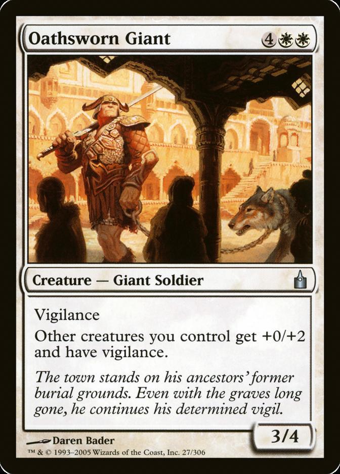 Oathsworn Giant [RAV]