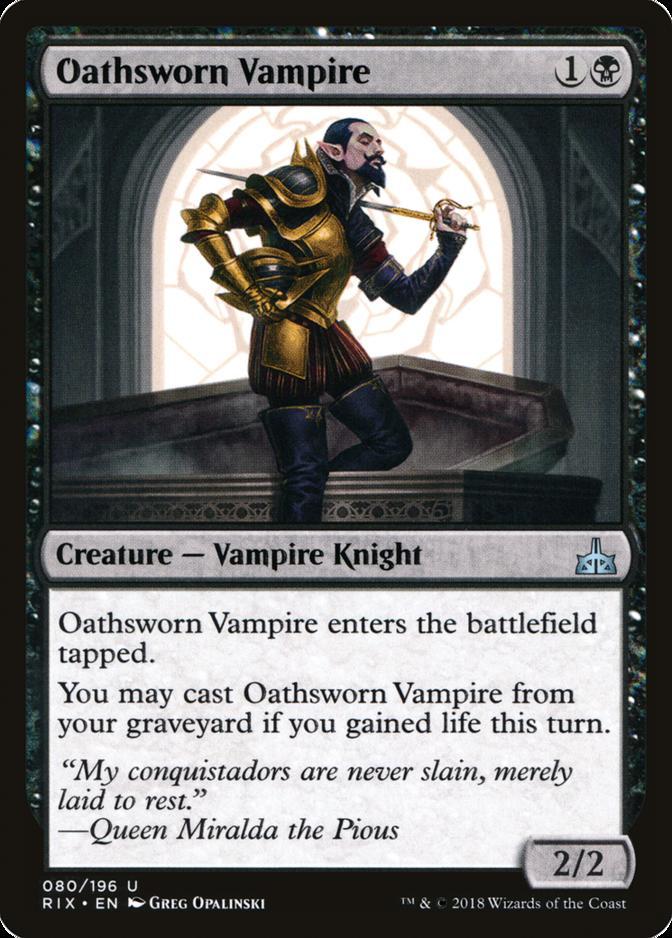 Oathsworn Vampire [RIX]