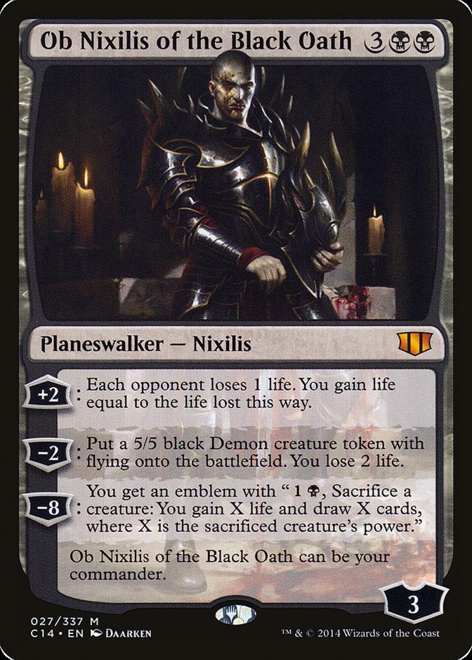 Ob Nixilis of the Black Oath [C14]