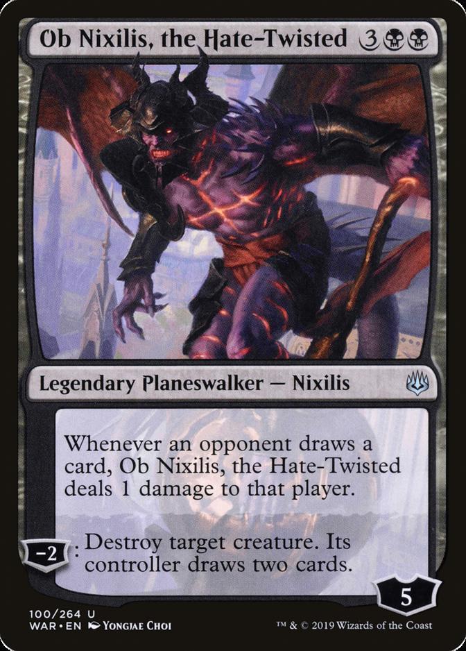 Ob Nixilis, the Hate-Twisted [WAR]