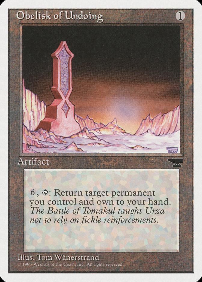 Obelisk of Undoing [CHR]