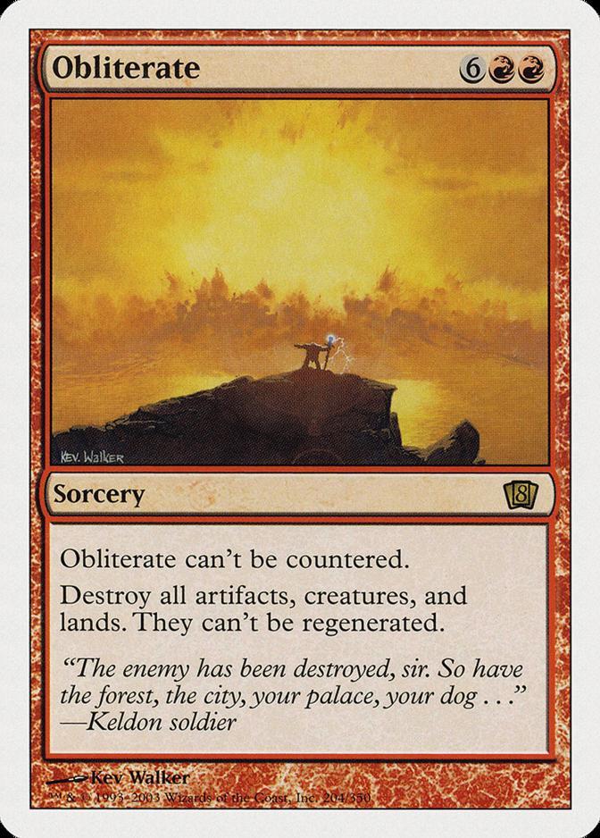 Obliterate [8ED]