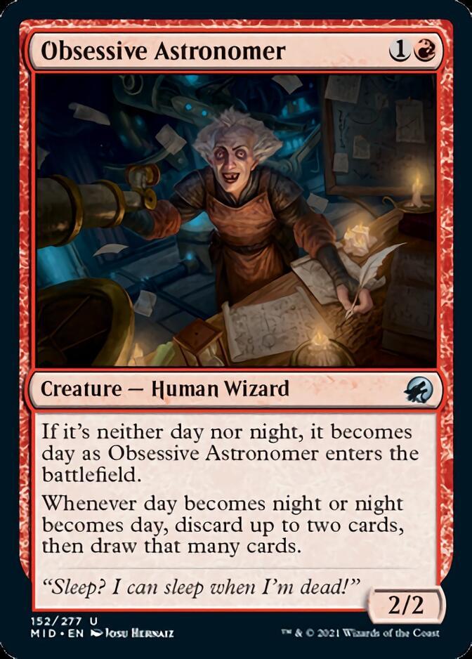 Obsessive Astronomer [MID]